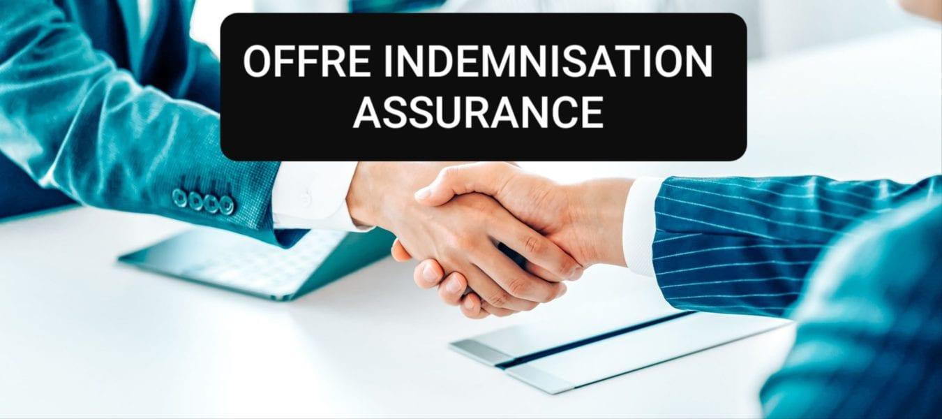 offre indemnisation compagnie d'assurance