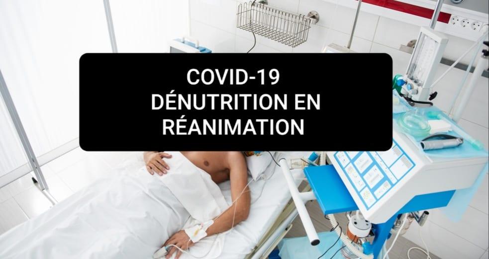 patient covid-19 en coma et amaigris